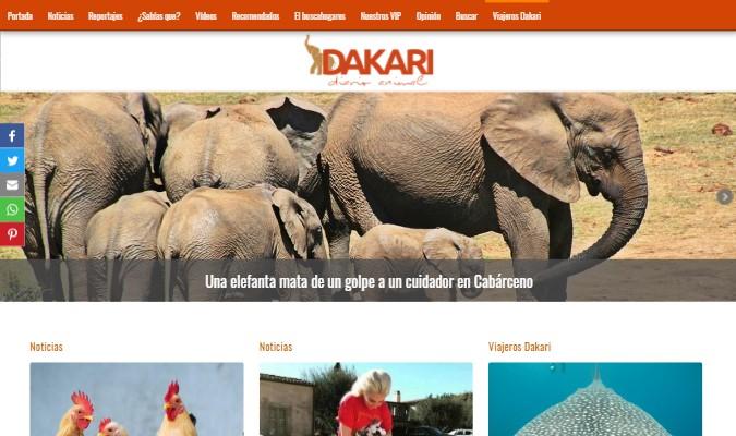 Imagen de preview del periódico digital Dakari Diario Animal